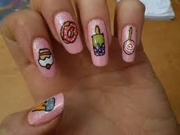 Food Nail Art Designs 30 Best Nail Art Designs For Girls Randomlynew