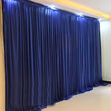 wedding backdrop drapes 3x3m white ivory colors silk wedding backdrops drapes curtain