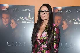 The Movie Blind Demi Moore Wears Gucci Christian Louboutin At U0027blind U0027 Film