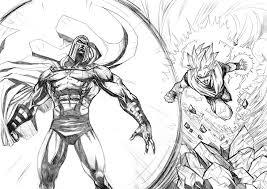 goku vs magneto by mikemaluk on deviantart