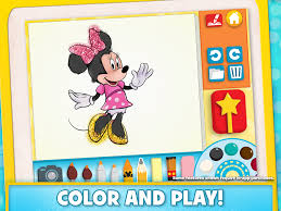 Turn Pictures Into Coloring Pages App Disney Color And Play Android Apps On Google Play