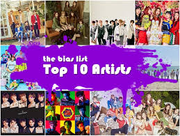 the top 10 k pop artists of 2017 the bias list k pop reviews