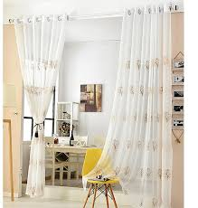 online get cheap embroidered voile curtains aliexpress com