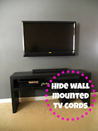 hide cable box wall mount tv tv mounted on wall