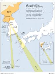 Air Force Bases United States Map by Threats To U S Vital Interests In Asia