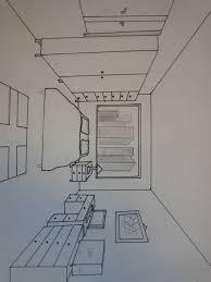 dessin chambre en perspective dessin d une chambre en perspective 11 apprendre a dessiner des