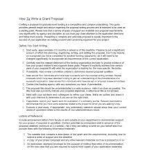 40 grant proposal templates nsf non profit research