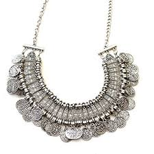 coin necklace vintage images Shining diva fashion jewellery bohemia gypsy tibetan vintage coin jpg