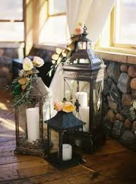 Lamp Centerpieces For Weddings by Vintage Wedding Lantern Centerpieces My Wedding Pinterest