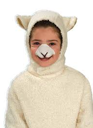 Halloween Sheep Costume Amazon Forum Sheep Hood Nose Child Costume Toys U0026 Games
