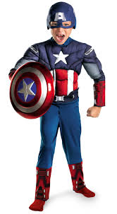 lab rats halloween costumes the avengers captain america classic muscle chest child book week