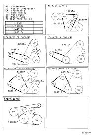 Toyota 2e Engine Diagram Toyota Corollaae111r Gemeke Tool Engine Fuel V Belt Japan