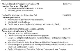 Military To Civilian Resume Sample by Military Civilian Resume Example Military To Civilian Conversion
