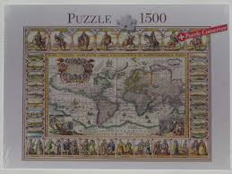 Ancient Map Puzzle 1500 Piece Ancient Map Of The World North London