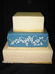 royal icing piping blue ridge buttercream