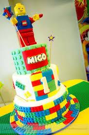 lego birthday cake shining mom lego city theme party migo u0027s