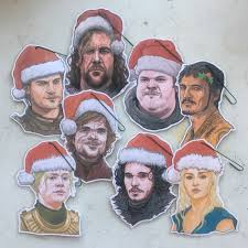 8 pack combo of thrones ornament special