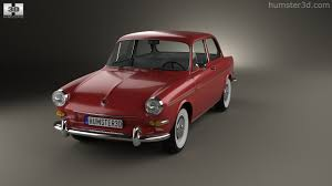 old volkswagen type 3 360 view of volkswagen 1500 type 3 notchback 1961 3d model