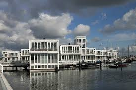 Floating Houses Incredible Floating Pre Fab Neighborhood Pops Up In The