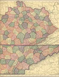 Kentucky Map Usa by The Usgenweb Archives Digital Map Library Hammonds 1910 Atlas