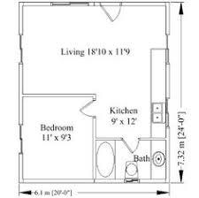 20 X20 Apt Floor Plan Starla Model D Floor Plan 20 X 20 20x20 Home Plans