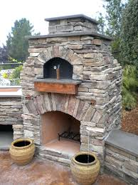 stand alone outdoor fireplace best outdoor fireplace patio ideas
