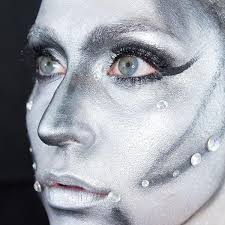 halloween makeup power up this robotic look more com