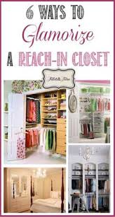 how to customize a reach in closet for 80 many old houses just