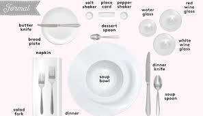 how to set a formal table how to set a table pei magazine