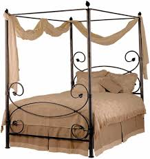 Rod Iron Canopy Bed by Beautiful Canopy Bed Design Ideas With Curtains That Will Make A