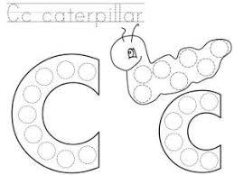 do a dot letter c printable tareas lenguaje pinterest do a