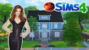 Bree Van De Kamp House Floor Plan by Déco U0026 Co Sims 4 Maison De Bree Desperate Housewives Youtube