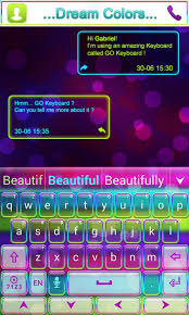 themes color keyboard dream colors go keyboard theme 1mobile com