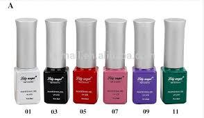 6ml 12 colors nail art striping drawing gel polish pen nail salon