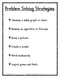 5th grade math problem solving math problem solving strategies