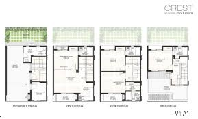 Unusual Floor Plans by Godrej Properties U0027 Best Utilised 4 Level Floor Plans In Greater