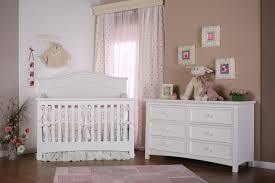 decor endearing white wood stained nursery furniture cribs by
