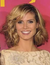 what face shape heidi klum heidi klum medium curls hair styles popular haircuts