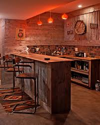 the wet bar in the family room was built by the owner with