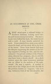 an occurrence at owl creek bridge wikipedia