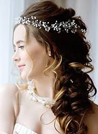 pearl hair accessories bridal hair accessories for bridesmaids 19in