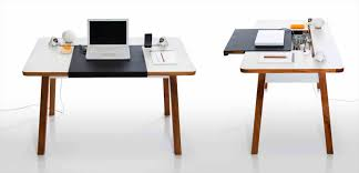 bureau portable en rail bureau design accessoires duangle collection by zeitraum