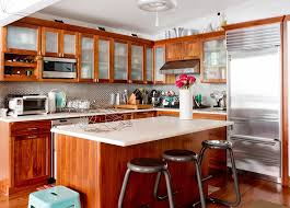 new york frosted glass kitchen eclectic with microwave stainless