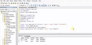 how to view table in sql how to create table insert update delete in sql server very easy