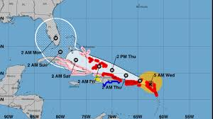 Caribbean Islands Map by Powerful Hurricane Irma Hits First Caribbean Islands The Daily Beast