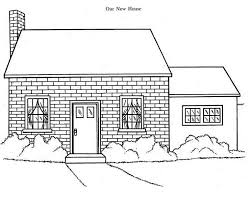 our new house in houses coloring page our new house in houses