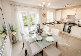 interior designed kitchens david wilson homes the larches offenham interior designed