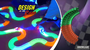 light up car track as seen on tv magic tracks youtube
