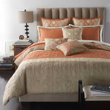 coral and grey bedding vnproweb decoration