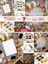 Travel Theme Travel Theme Styled Mockup Product Mockups Creative Market